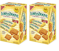 Nabisco Lorna Doone Shortbread Cookies 30 ct Pack of 2