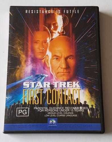 1 of 1 - Star Trek 08 - First Contact DVD (#DVD01664)