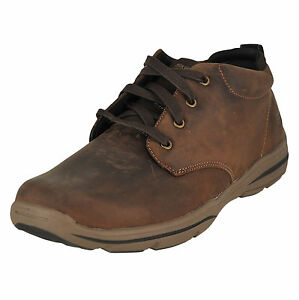4c7311f95ca9 Skechers USA Mens Harper Meldon Chukka Boot Chocolate 10 M US for ...