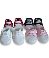 Teddy Bear Clothing Shoes Fit Build A Bear Teddies Canvas Lace Up Bears Trainers