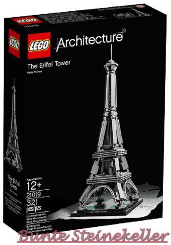 LEGO ® Architecture 21019 della Torre Eiffel /& 0 € Spedizione /& Scatola Originale /& Nuovo