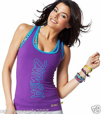 ZUMBA FITNESS DANCE RACERBACK TOP SHIRT from Convention London~Harrods S, M, & L