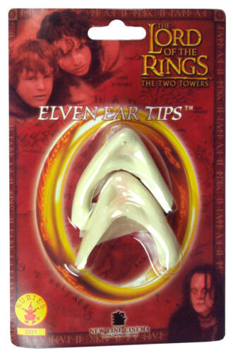 Elven Ear Tips Elf Lord Of The Rings Hobbit Dress Up Halloween Costume Accessory by Rubie's