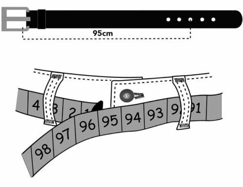 Gürtel aus Vollrindeder,Wechselgürtel für Ihre Schnalle,4cm,stabil,ohne schnalle