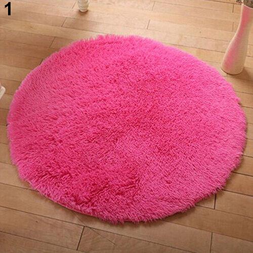 Eg /_ Wohndeko Weich Bade Schlafzimmer Boden Schauer Teppiche Yoga Plüsch Rund