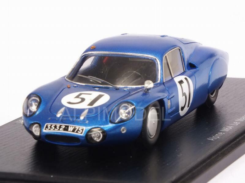 Alpine M64 Le Mans 1965 Verrier - Masson 1 43 SPARK S5487