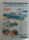 Laminated Brochure Classic Carlectables 1/18 Holden HR Premier Pyrenees Blue