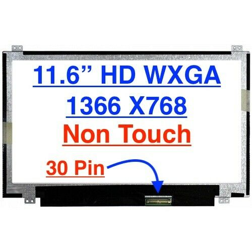 Toshiba SATELLITE RADIUS L15W-B1302 LCD Screen Replacement for Laptop New LED