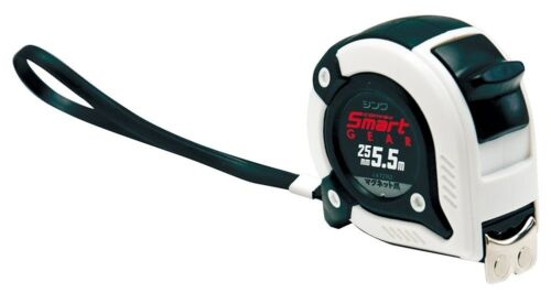 Japanese SHINWA Convex Tape Measure Ruler with Magnet 5.5m 72762