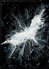 "2 1/2"" X 3 1/2"" BATMAN LOGO THE DARK KNIGHT RISES REFRIGERATOR MAGNET NEW"