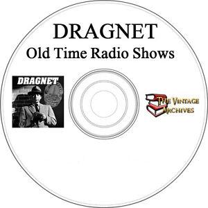 Dragnet-MP3-OTR-Old-Time-Radio-Show-95-Episodes
