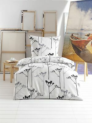 Bettwäsche 4 Tlg Bettwäsche Bettgarnitur Bettbezug Baumwolle Seersucker 135 X 200 Öko Süß GehäRtet 2