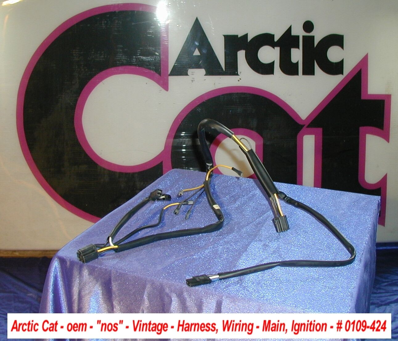 Arctic Cat Main Ignition Wiring Harness '73 Puma Vintage