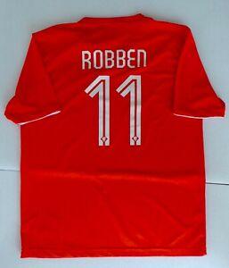 HOLLAND 2014 WORLD CUP HOME FOOTBALL SHIRT - 'ROBBEN 11' - NIKE SIZE XL