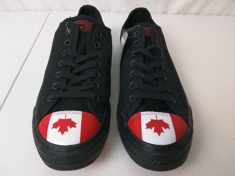 Converse Unisex shoes Size Mens 10 Womens 12 Black Canadian Toe Cap 153999C