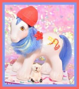 My-Little-Pony-MLP-G1-Vtg-1987-BIG-BROTHER-Boy-CHIEF-Fireman-Firefighter