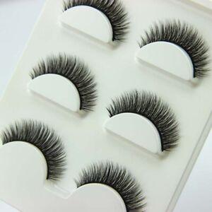 15Pairs-New-Black-Luxurious-High-Quality-100-Natural-Cross-Mink-False-Eyelashes