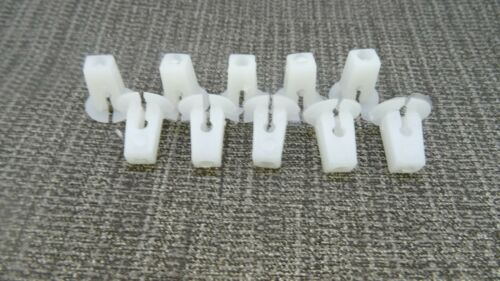 MERCEDES-BENZ HEADLIGHT RETAINER GROMMET EXPANDING NUT FASTEN CLIPS x10