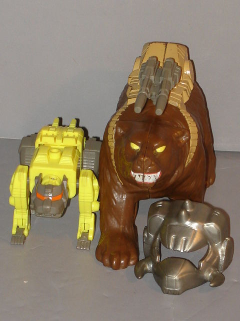 G1 TRANSFORMER PRETENDER CHAINCLAW COMPLETE PROF:CLEANED LOT  5
