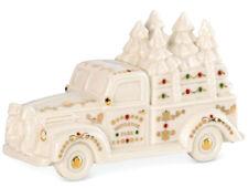 Lenox Mistletoe Village Truck With Trees