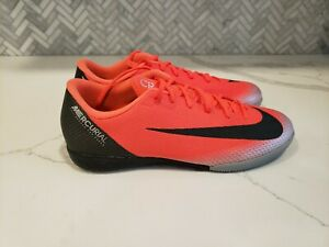 newest 3f55c 135c3 Details about AJ3731-600 Nike MercurialX Vapor 12 Academy CR7 IC Indoor  Soccer Shoes Size 8