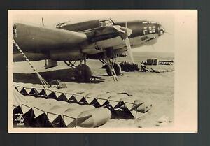 1939 Germany RPPC Luftwaffe Feldpost Cover Postcard Heinkel 111 Bomber in Spain