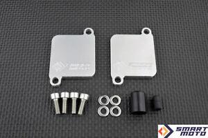 Paar-Ventil-Abzieher-Satz-mit-Smog-Block-Off-Platten-Suzuki-GSX-1400-alle-Modelle