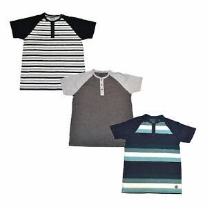 Levis-Mens-Henley-Shirt-Short-Sleeve-T-Shirt-Casual-Tee-Shirt-S-M-L-Xl-Xxl-New