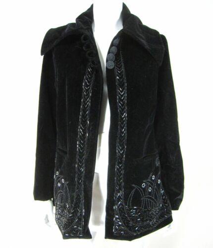 April Cornell for Cornell Trading Black Jacket S S