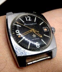 Vostok-Komandirskie-Chistopol-Zakaz-MO-USSR-Vintage-watch-UdSSR-Original