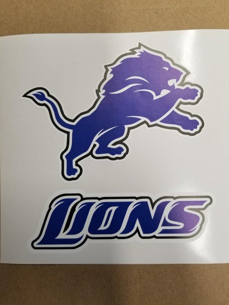 Detroit Lions cornhole board or  vehicle decal(s)DL2  leisure