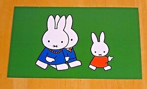 039-WITH-LOVE-FROM-MIFFY-039-POSTCARD-MIFFY-MOTHER-amp-FATHER-1975-DICK-BRUNA