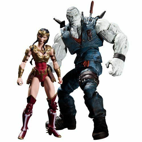 """DC Comics Injustice Wonder Woman vs Solomon Grundy 3.75/"""" Action Figures 2 Pk"""
