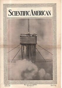 1914 Scientific American February 14 - Hope-Jones orchestra; Curtiss Flying Boat