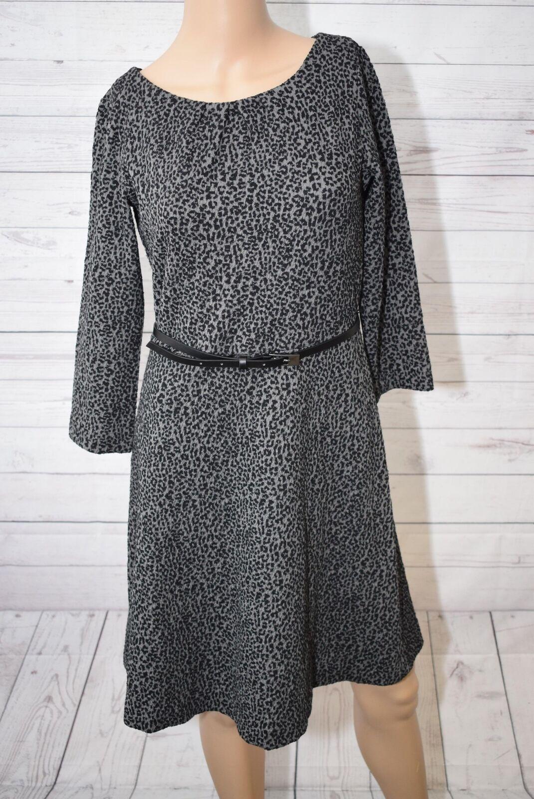 Comma Damen A-Linie Kleid, Knielang, Gr. 36