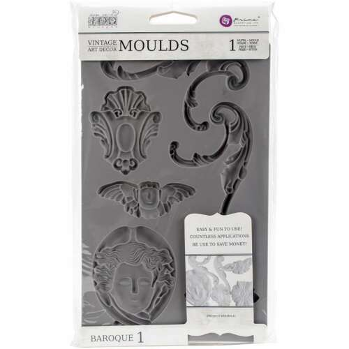 Iron Orchid Designs Vintage Art Decor Mould -Baroque #1 655350814779