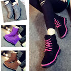 Womens Ankle Boots Fur Winter Warm Thicken Shoes Snow Boots 5 Color New Size