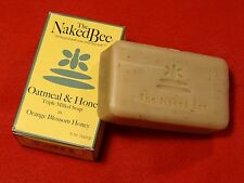 The Naked Bee 1 Bar Moisturizing Oatmeal & Honey Triple Milled Soap 5 oz