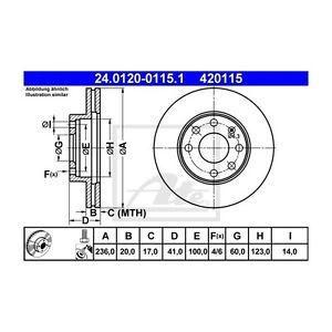 2-St-ATE-24-0120-0115-1-Bremsscheibe-Opel-Astra-F-Astra-F-CC-Kadett-E-Combo
