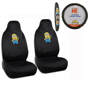 Image Is Loading New Set Despicable Me Minion Minions Car Front
