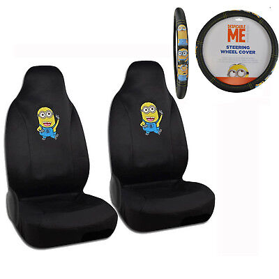 Despicable Me Minions Front Seat Covers