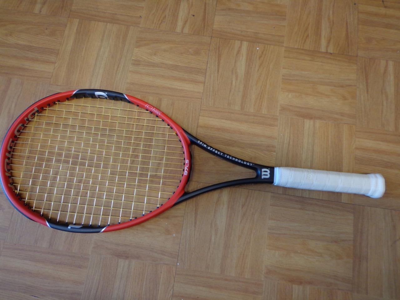 2015 Pro Staff Wilson 97LS 10.2oz 18x16 4 1 2 Grip Tenis Raqueta