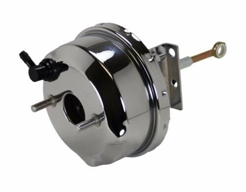 """7/"""" Chrome Power Brake Booster 1965-66 Ford Mustang with pedal linkage NEW"""