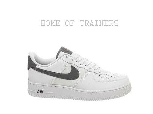 Nike Air Force 1 07 White Cool Grey Night Maroon Men's Trainers All Sizes