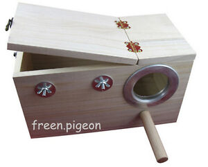 [Wood] tiger breeding box, peony, cockatiels, parrots, breeding boxes, bird nest