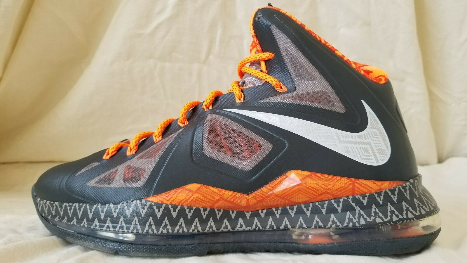 Nike Lebron James X BHM Black History Month Elite PS 583109-001 Comfortable Wild casual shoes