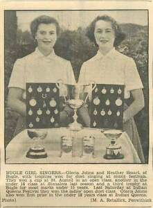1954 Gloria Johns And Heather Smart Bugle Girl Singers - <span itemprop='availableAtOrFrom'>Bishop Auckland, United Kingdom</span> - If for any reason you are not satisfied with your item, do let us know. If you wish to return it, you may, within 14 days, and we will issue you with a full refund. Most purchases - <span itemprop='availableAtOrFrom'>Bishop Auckland, United Kingdom</span>