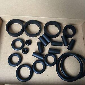 Judge Dredd pinball - rubber set kit