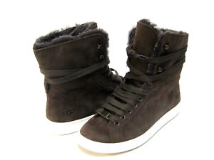 dfa4c537532 Details about UGG STARLYN WOMEN SNEAKER BOOTS SUEDE CHOCOLATE US 10 /UK 8.5  /EU 41