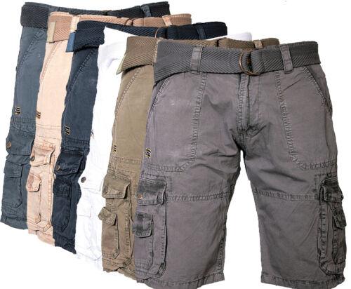 Geographical norway Uomo Cargo Pantaloncini Pantaloni Corti Ginocchio Short